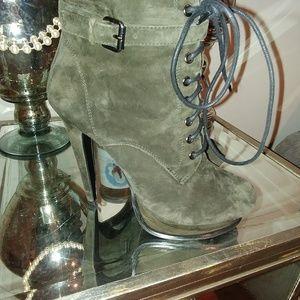 Shoes - Aldo Boots Panzano 8.5 or EU 39 Olive Green We